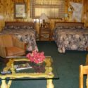 Poncho Villa – One room kitchen lodging for 4 at Mountain Shadows Lodge